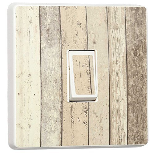 Wood Rustic light switch